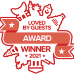 Hotels.com Loved By Guests Award 2021